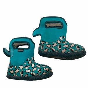 5/$20 Bogs penguin 14 degree boots
